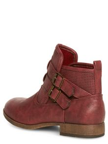 Punch Out Buckle Boots