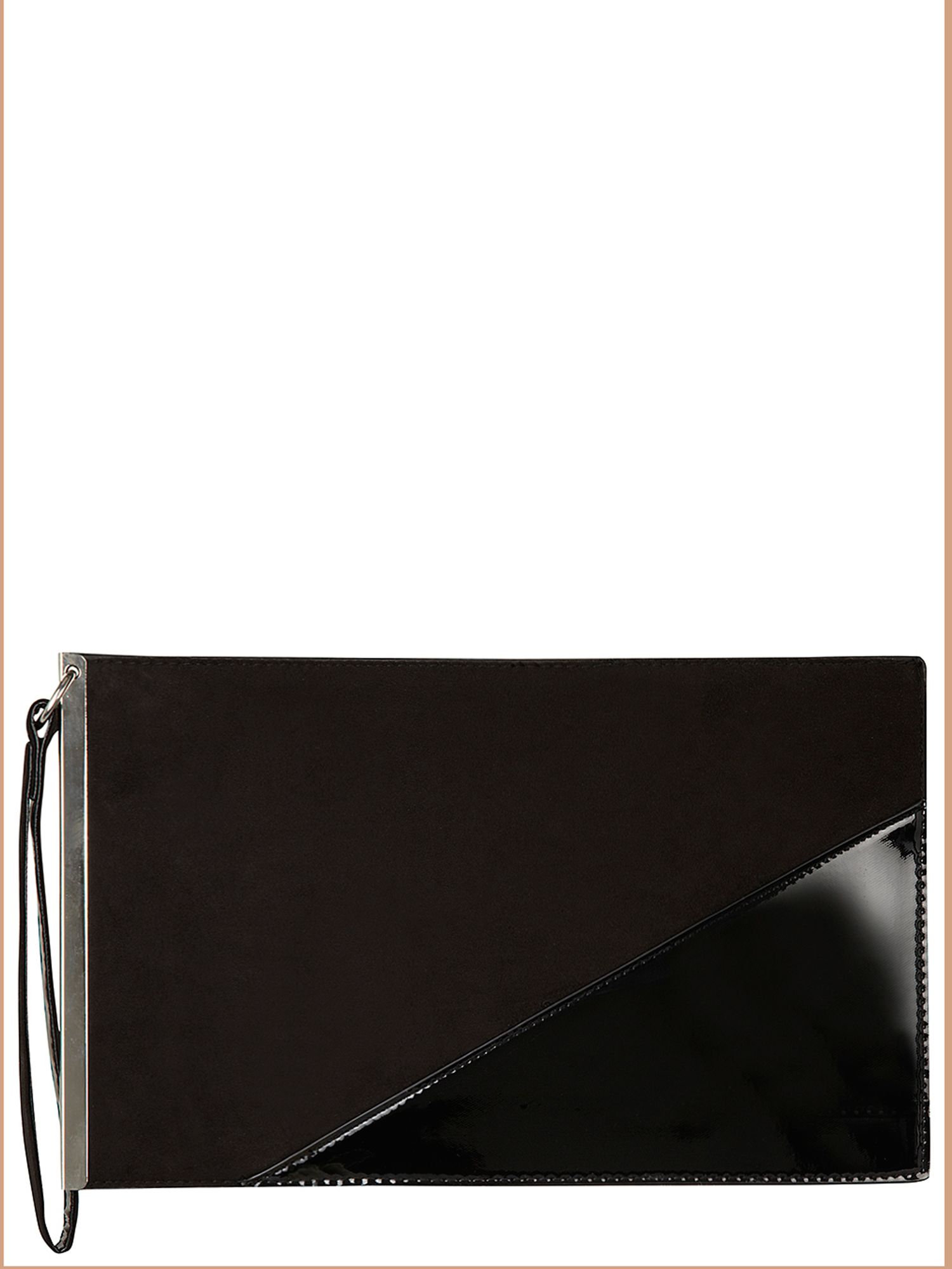Asymmetric Clutch Bag
