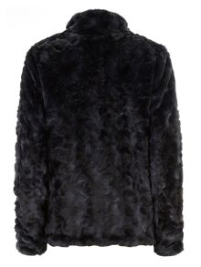 Tall Short Faux Fur Coat