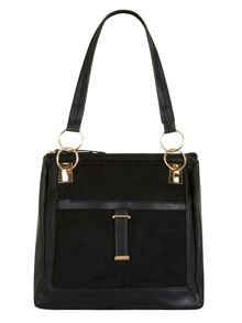 Tab Close Slouch Bag