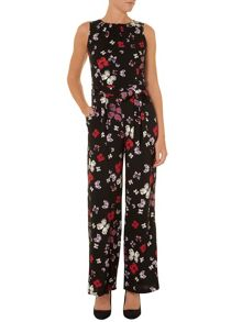 Butterfly printed jumpsuit
