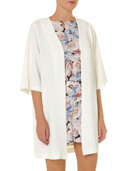 Dorothy Perkins All about rose jacquard jacket with half sleeve