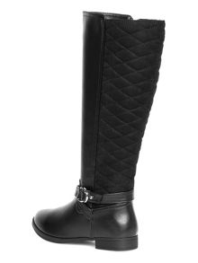 Quilted Riding Boots