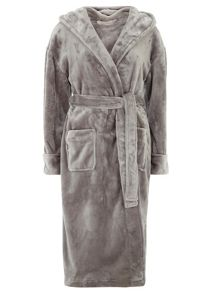 Luxury Hooded Dressing Gown
