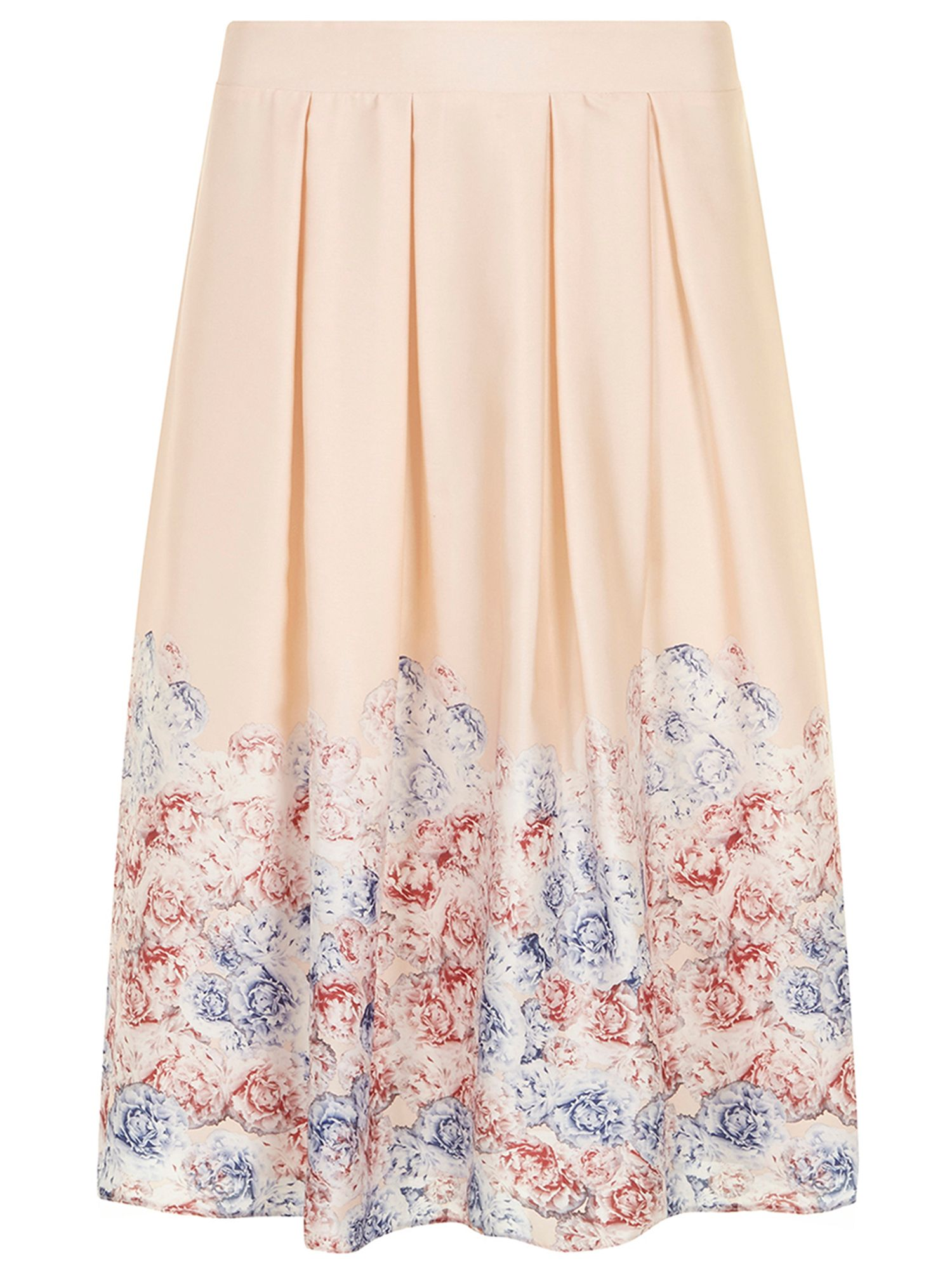 All about rose midi skirt