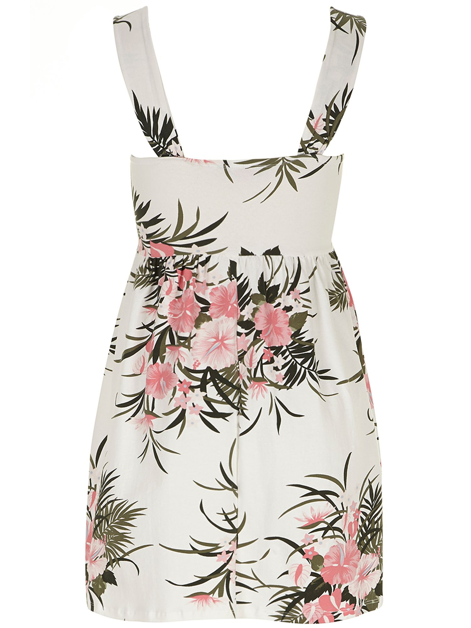 Petite tropical print sundress