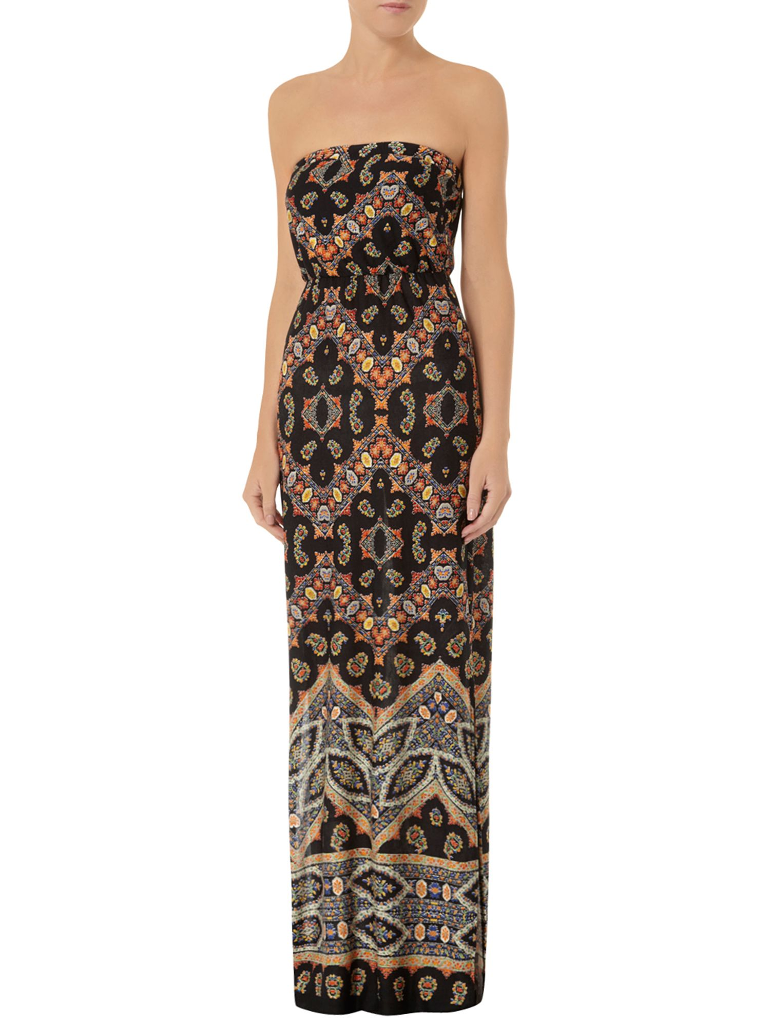 Moroccan Bandeau Maxi Dress