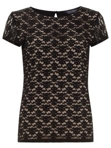 Tall Lace Front T-Shirt