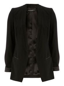 Satin Trim Blazer