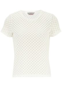 Petite Spotted Burn Out T-shirt