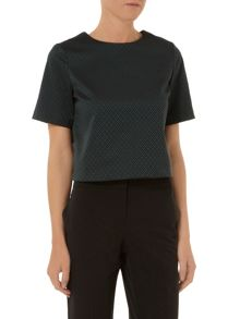 Jacquard Shell T-Shirt