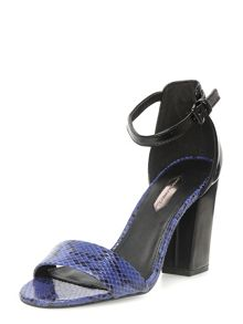 High Block Heel Sandal