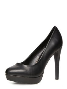 High Platform Court Shoe