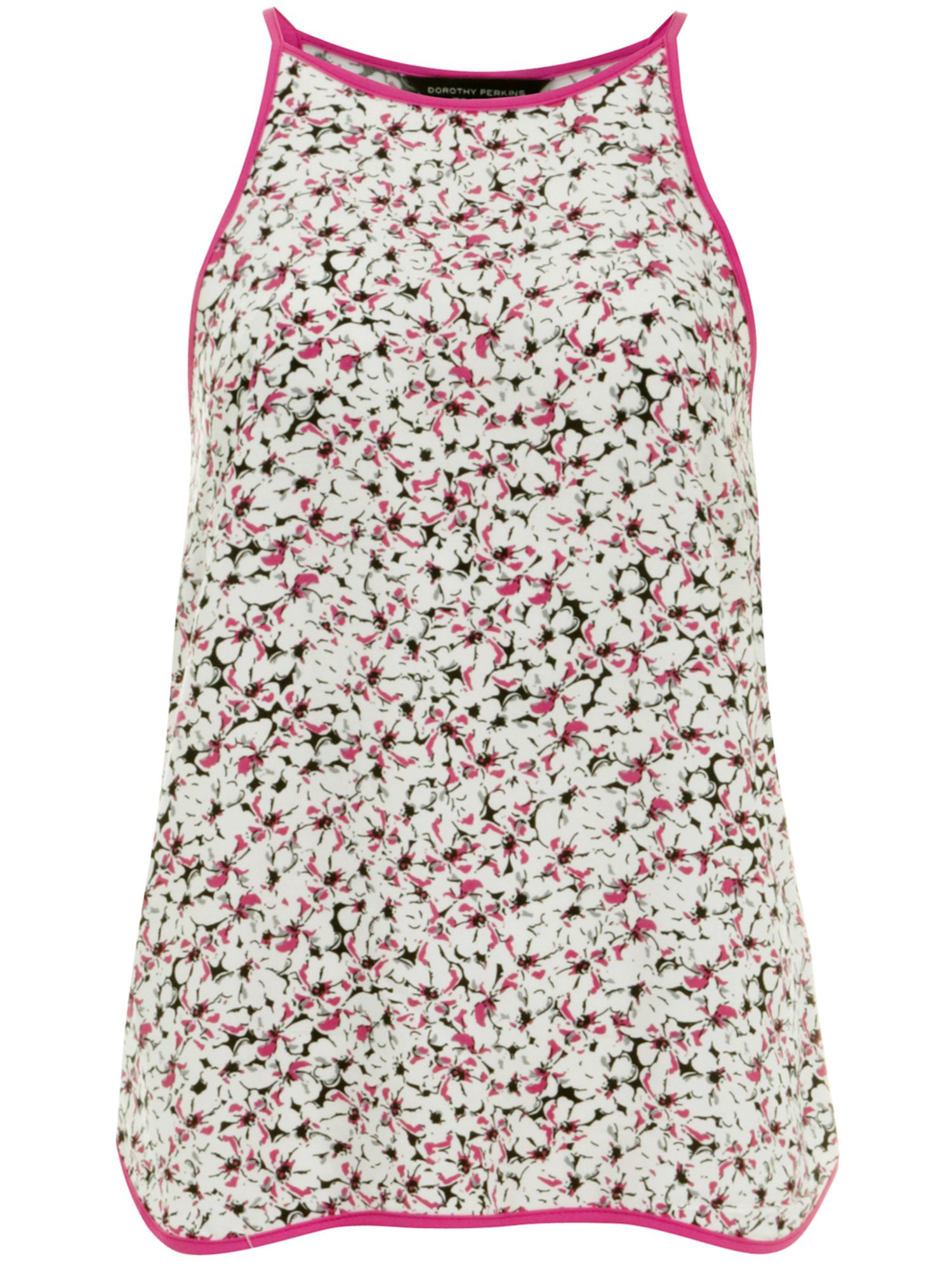Floral Piped Camisole