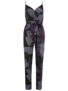 Ditsy Patch Jumpsuit