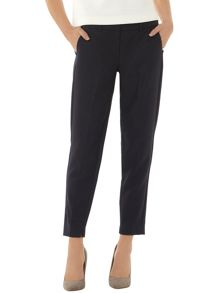 Pique Slim Formal Trousers