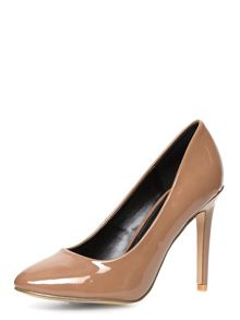 Point Farina Almond Toe Court Shoe