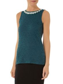Bling Neck Lace Shell