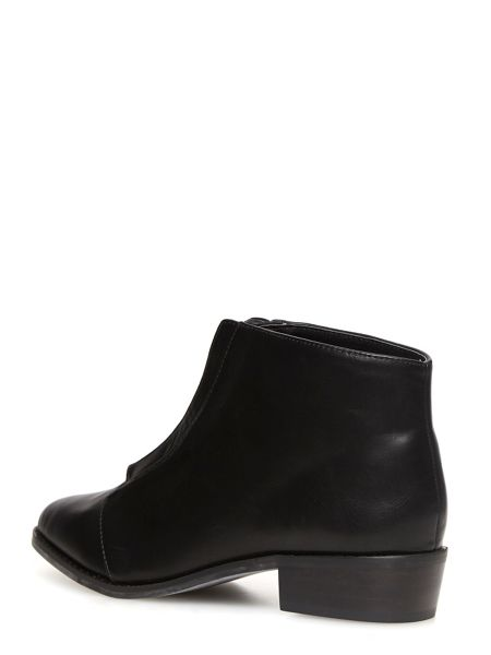 Dorothy Perkins Zip Front Pointed Boots