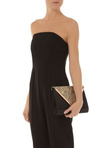 V Bar Clutch Bag