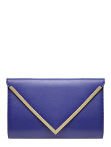 Structured Clutch Bag