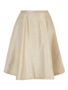 Sparkle Lurex Midi Skirt