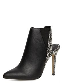 Pointed Sling Back Shoe Boots