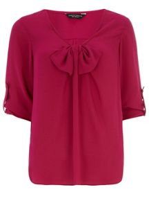 Big Bow Rollsleeve Top
