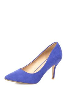 Suedette Mid Pointed Court