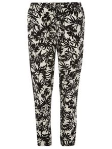 Tropical Printed Joggers