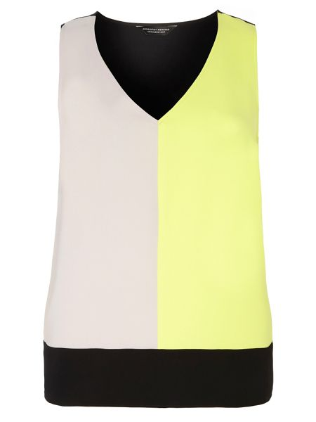 Dorothy Perkins Block shell top