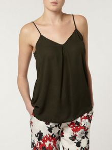 Inverted Pleat Camisole Top