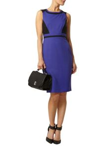 Colourblock Pencil Dress