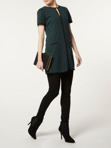 Billie and Blossom Jacquard Tunic