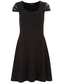 Tall:Lace Skater Dress