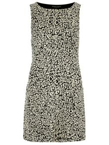 Animal Jacquard Pinafore