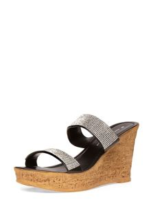 Double Bling Wedges