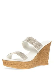 Dorothy Perkins Double Bling Wedges