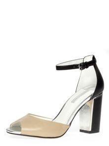 High Open Peep Toe Courts