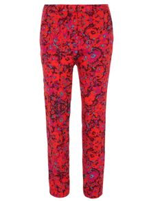 Dorothy Perkins Floral Ottoman Trouser