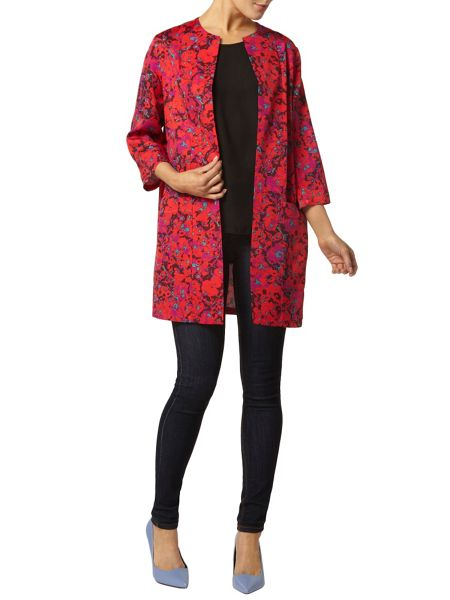 Dorothy Perkins Luxe Floral Ottoman Duster Jacket