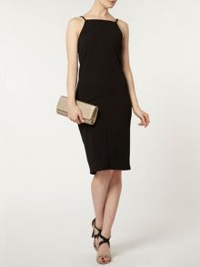 Seamed Bodycon Dress