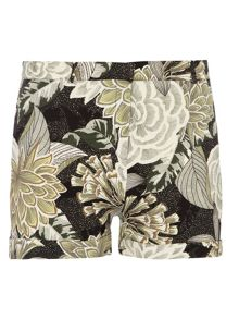 Ivy Leaf Crepe Short