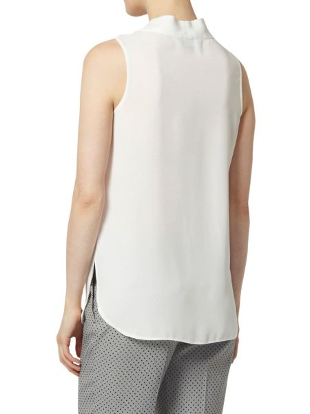 Dorothy Perkins Pleat Front Sleeveless Top