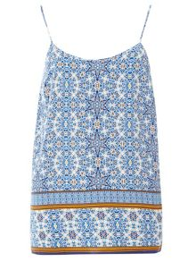 Tile Straight Camisole Top