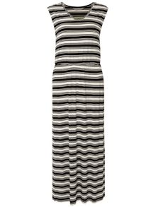 Petite Stripe Maxi Dress