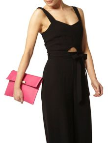 Colour Tab Clutch Bag