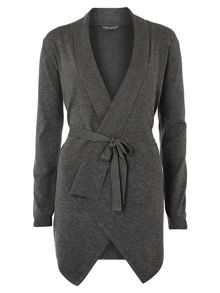 Tie Front Waterfall Cardigan