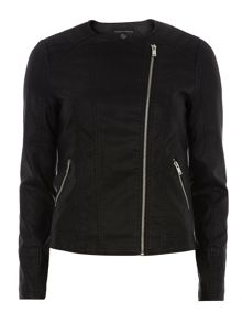 Dorothy Perkins Collarless Stitch Jacket