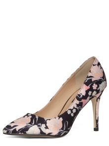 Floral Print Mid Pointed Courts